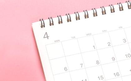 最短4回の来院(約1ヶ月)で短期集中治療が可能